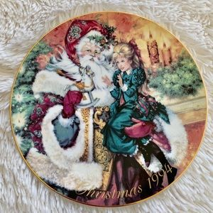 The Wonder of Christmas - Avon Collectible Plate